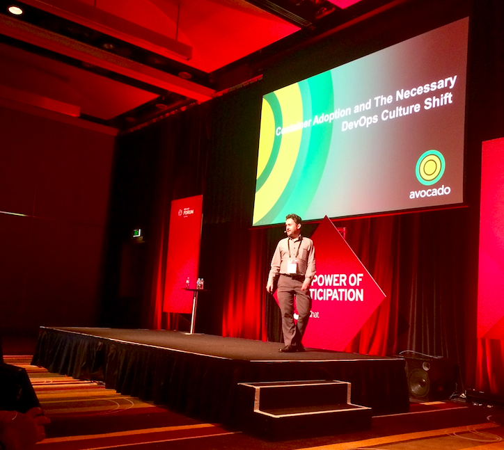 Romain Bigeard at Red Hat – Container Adoption and the necessary DevOps culture shift